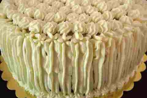 tort pandispan si vanilie