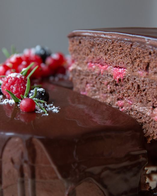 tort zmeură